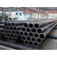 PE BE Coated ERW Steel Pipe Welded BS1387 For Hydraulic Pipline , 3m - 12m Length Manufactures