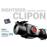 Buy cheap High Precision Clip On Thermal Sight , 50Hz Frame Rate Thermal Imaging Clip On from wholesalers