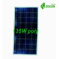 China 135W 18V Rated Poly PV Solar Panel For RV / Camping / OFF- grid Solar System on sale