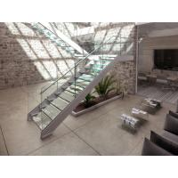 High Quality Steel Glass Staircase Manufactures