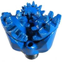China Borehole Drilling Steel Tooth Tricone Drill Bit , Mill Tooth Tricone Bit on sale