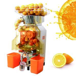 China Custom Orange Juice Squeezer , Pomegranate Juice Machine With Automatic Feeder on sale
