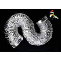 Air Conditioning Ventilation Fire Resistant Flexible Ducting Aluminum Foil Manufactures