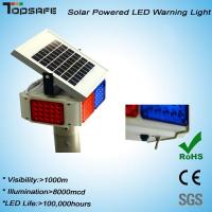 Solar Powered Blinking Warning Light Manufactures