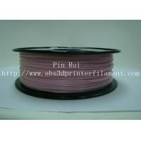 High Strength White To Purple Color Changing Filament 1kg / Spool Manufactures