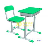 Height Hollow Polythylene Adjustable Student Desk And Chair Set Size 600*400mm Manufactures