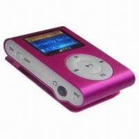 Clip-on MP3 Player with LCD Screen, Supports TF Card Manufactures