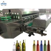 China Used glass bottle cleaning machine recycle glass bottle washing machine recycled small bottle washer equipment on sale