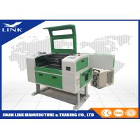 Small Size CO2 90W Laser Engraving Machine For Wood / Stone / Glass , CNC Laser Cutter Manufactures