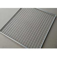 450mmx300mm 304 Stainless Steel Barbecue Wire Mesh Baking / Cooling Tray Manufactures