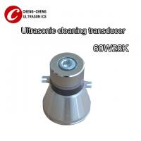 Industrial Ultrasonic Piezoceramic Transducer 28K 60W For Ultrasond Metal Parts Cleaning Manufactures