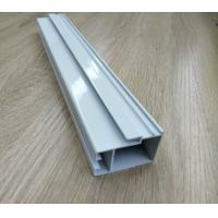 Quality High Hardness Powder Coated Aluminium Extrusions For Doors / Windows Corrosion Resistance for sale