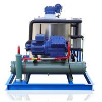 China Industrial Flake Ice Machine 5 Ton Food Grade PLC Control System on sale