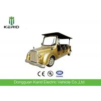 Energy Saving Classic Golf Carts 48V DC Motor 8 Seat Electric Classic Car Manufactures