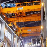 China Double Beam 40 Ton Foundry Crane 100kn Rated Lifting Heat Resistant Long Life on sale