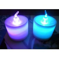 China variety of colors changing LED tea light candle with remote control on sale