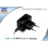 CE / GS EU plug 12W AC DC Switching Power Supply 100% Aging Test Manufactures