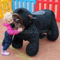 China Hansel coin operated walking animal ride for mall on sale