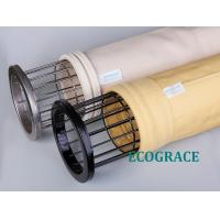 Baghouse PPS Filter Bags , Durable Smoke Power Plant Dust Filtration Manufactures