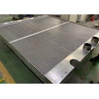 China Custom Large Aluminum bar and plate fin Oil Cooler for heavy duty power generator on sale