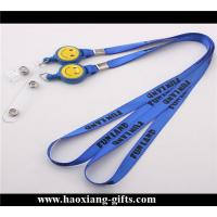 Wholesale custom logo and size with  breakaway buckle for id lanyard Manufactures
