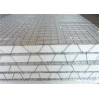 China High Tensile Strength 3D Welded Galvanized Wire Mesh Panels For Construction on sale