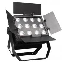 Stage Decoration 12 * 15W 3in1 RGB LED Wall Washer , Outdoor Stage Wall Wash Lighting Manufactures