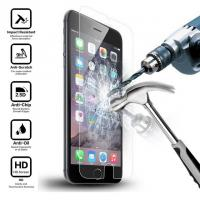 Transparent Tempered Glass Mobile Screen Protector 9H 2.5D 0.33 Mm Thickness For Iphone Manufactures