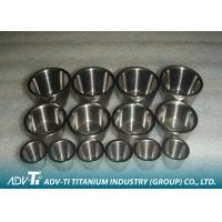 Customized 99.9% Pure Titanium Precision Parts GR1 Crucible Good Corrosion Resistance Manufactures