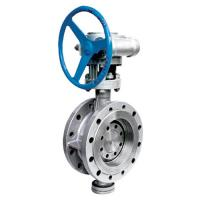API Cast Steel Butterfly Valve / High Temperature Butterfly Valves D343H Manufactures