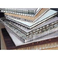 China High Class honeycomb structural panels , metal facade panels construction materials on sale