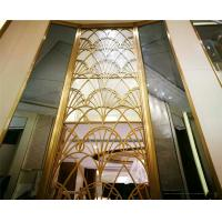 exterior wall partition large metal screen facade panel stainless steel screen Manufactures