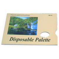 Acrylic / Oil Painting Pad Disposable Palette Type , Artist Drawing Pad 48 sheets 58gsm Manufactures