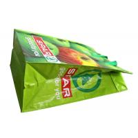 Recycle NonWoven Fabric based with Shining Coated Shopping Bags with Plastic Zipper Manufactures