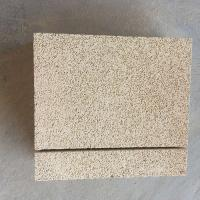China Yellow Color Fire Insulation Bricks , Insulating Refractory Brick Light Weight on sale
