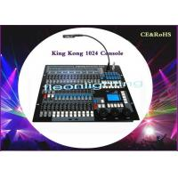 China Console KingKong 1024 DMX Lighting Controller DMX512 Console For DJ Disco wholesale
