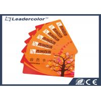 Smart PVC RFID Chip Card Access Control , EAN13 Barcode RFID Key Cards Manufactures