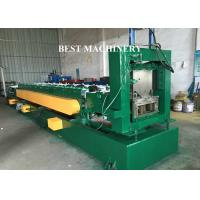 Punching Device U Channel Roll Forming Machine , Galvanized Steel Roll Forming Machine Manufactures