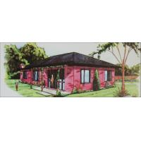 Residential Steel Buildings - Galvanized Steel Structure, Three bedrooms, GFA 105sq Manufactures