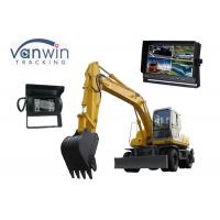 China 10.1 Inch TFT LCD backup camera monitor with 4 Cameras inputs, 1024 x 600 Resolution on sale