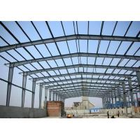 Prefab Metal Buildings Long Span Steel Structures With Sandwich Panels​ Manufactures