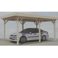 Prefabricated Natural Outdoor Wooden House Carport Gazebo In Pine Wood Manufactures