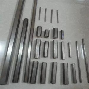 China Hexagon Gr9 Titanium rods/bars on sale