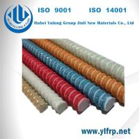 Pultrusion Fiberglass Reinforced FRP Fully Threaded Rod Manufactures