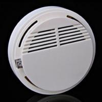 Wireless Cordless Sensor Monitor Smoke Detector Fire Alarm 433MHz for ip camera Manufactures