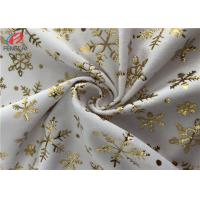 1MM Pile High Bronzing Printed Polyester Velvet Fabric Minky Plush Fabric Manufactures