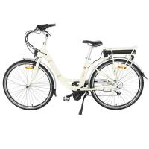 China Adjustable Handle Mid Motor Electric Bike , Ladies Electric Bike With LED Mode Display on sale
