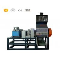 China Automated Rubber Tire Shredding Machine , Tyre Double Shaft Shredder Machine on sale