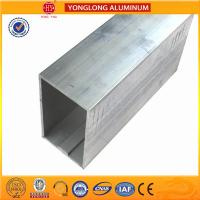 Customized Size Aluminium Industrial Extrusion Tube Profile 6m Length Manufactures