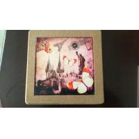 25*25cm Square Cork Trivet, Ceramic Trivet with Cork Based, Customized Size Manufactures